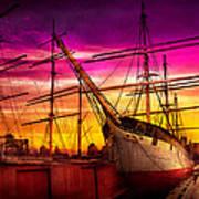 Boat - Sailing - Fleet Week Poster by Mike Savad