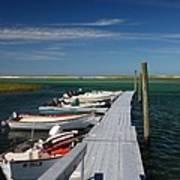 Boats At Bass Hole  Poster