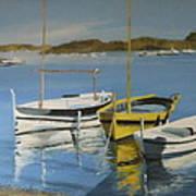 boats of Cadaques Poster