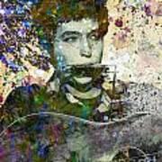 Bob Dylan Original Painting Print Poster