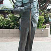Bob Hope Memorial Statue Poster