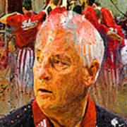 Bobby Knight Indiana Legend Poster