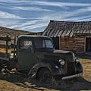 Bodie Abandoned Truck Poster