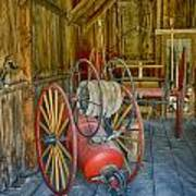Bodie Fire Dept Water Pumper Img 7310 Poster
