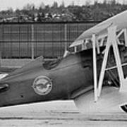 Boeing 100-f  P-12 Prototype Poster