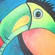 Bold Toucan Poster
