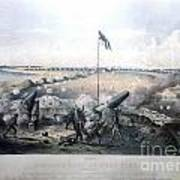 Bombardment Of Fort Fisher Poster