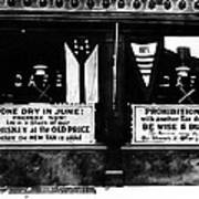 Bone Dry In June - Prohibition Sale Poster