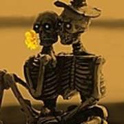 Bones In Love  Poster by David Dehner