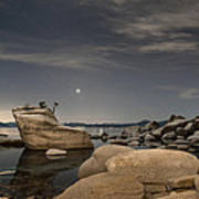 Bonsai Rock With Venus And Mars Poster