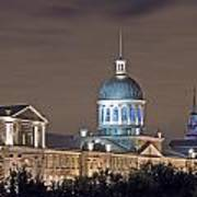 Bonsecours At Night Poster