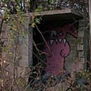 Boogie Monster Graffiti Poster