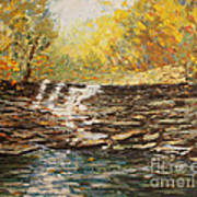 Boone County In Fall Poster by Terri Maddin-Miller