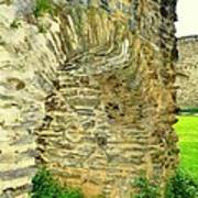 Boppard Germany Ruins Poster