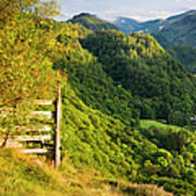 Borrowdale Valley - Lake District Poster