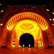 Boston - 50 Rowes Wharf Arch Poster