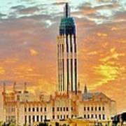 Boston Ave Methodist Church Tulsa Oklahoma Poster