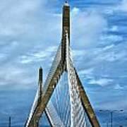 Boston Bridge Poster by Melanie McKinney