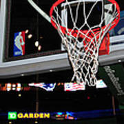 Boston Celtics' Basket Poster