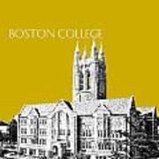 Boston College - Gold Poster