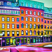 Boston Colors 1 Poster by Yury Malkov