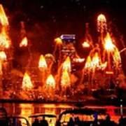 Boston Fireworks  Firepower Poster