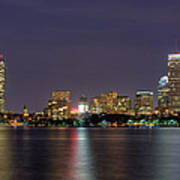 Boston From Memorial Drive Poster by Joann Vitali