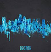Boston Massachusetts Usa Poster by Aged Pixel