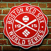 Boston Red Sox 1915 World Champions Poster by Stephen Stookey