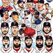 Boston Red Sox Ws Champions Poster