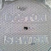 Boston Sewer Poster