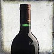 Bottle Of Bordeaux Poster