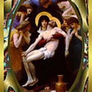 Bougereau Vintage Jesus Poster