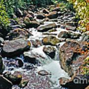 Boulder Stream Poster