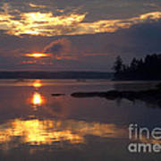 Boundary Waters Sunrise Poster