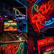 Bourbon St. Neon - Nola Poster