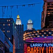 Bourbon Street And Cbd Lights  Poster