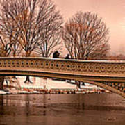 Bow Bridge Panorama Poster
