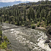 Bowl And Pitcher Area - Riverside State Park - Spokane Washington Poster