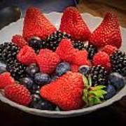Bowl Of Fruit 1 Poster