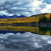 Bowman Lake Quietude Poster