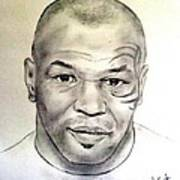Boxer And Actor Mike Tyson Poster