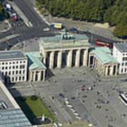 Bradenburg Gate, Berlin Poster