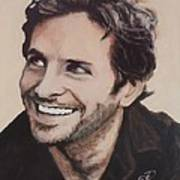 Bradley Cooper Poster by Shirl Theis