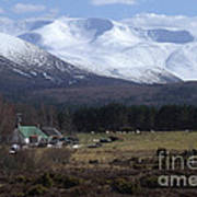Braeriach From Whitewell Poster