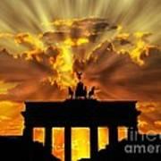 Brandenburg Gate Brandenburger Tor Berlin Germany Poster