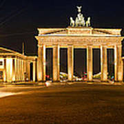 Brandenburg Gate Panoramic Poster by Melanie Viola