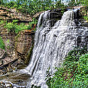 Brandywine Falls Poster by Jenny Ellen Photography