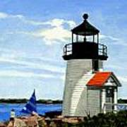 Brant Point Lighthouse Nantucket Massachusetts Poster