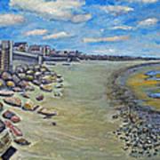 Brant Rock Beach Poster
